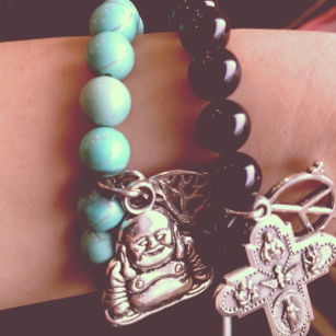 My bracelets from 100 Squared