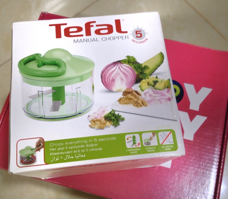 Lazada Tefal Manual Chopper