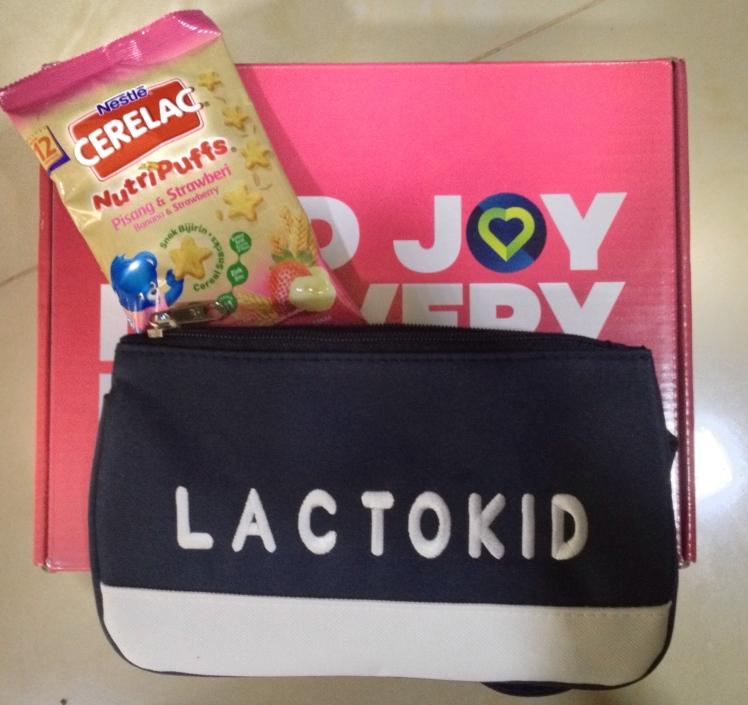 LAZADA Nestle Cerelac NutriPuffs Lactokid